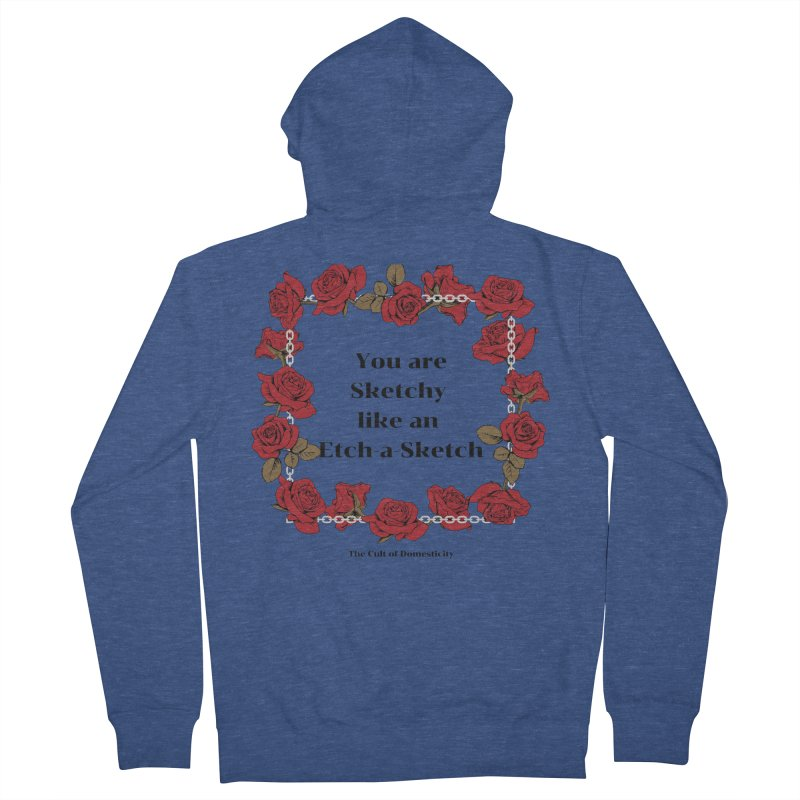 Etch-A-Sketch Women's Zip-Up Hoody by The Cult of Domesticity Podcast