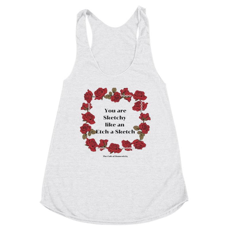 Etch-A-Sketch Women's Tank by The Cult of Domesticity Podcast