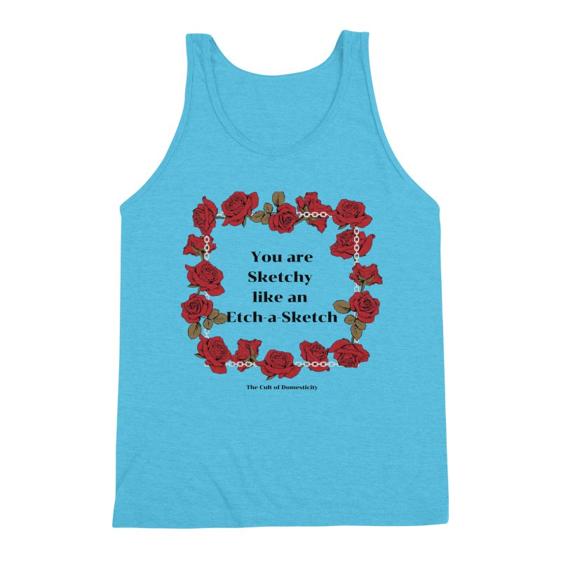 Etch-A-Sketch Men's Tank by The Cult of Domesticity Podcast