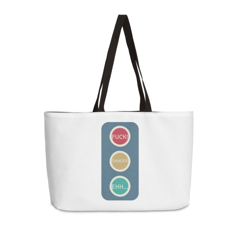 Stoplight Accessories Weekender Bag Bag by The Cult of Domesticity Podcast