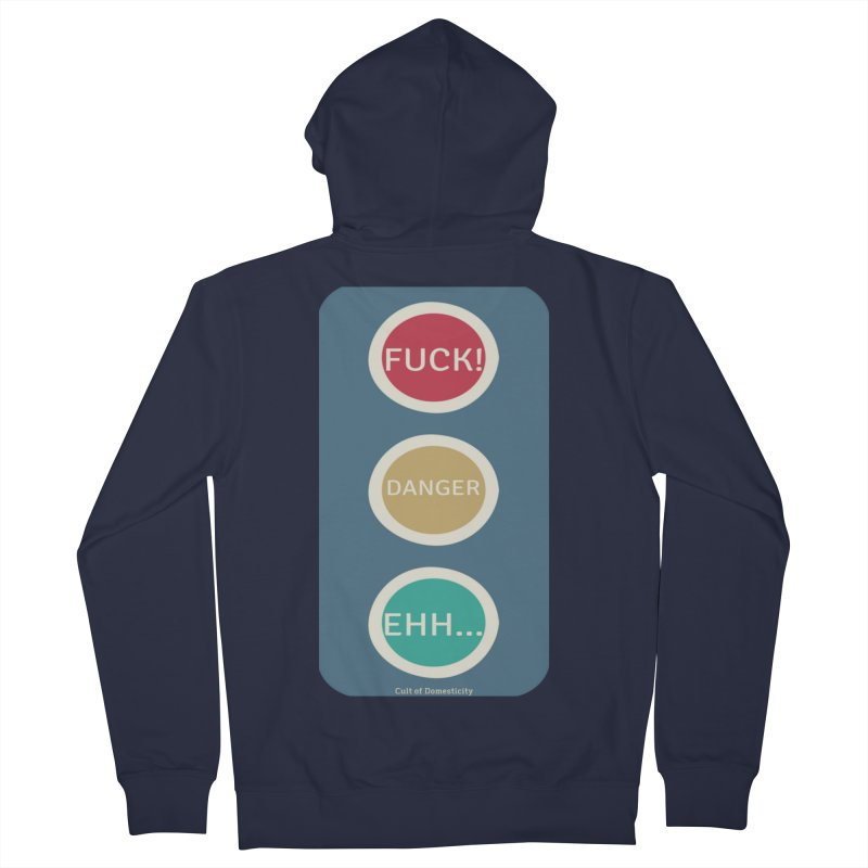 Stoplight Men's Zip-Up Hoody by The Cult of Domesticity Podcast