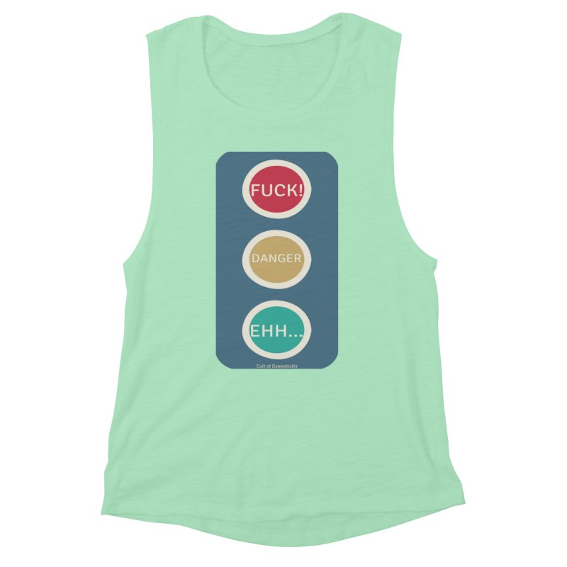 Stoplight Women's Tank by The Cult of Domesticity Podcast