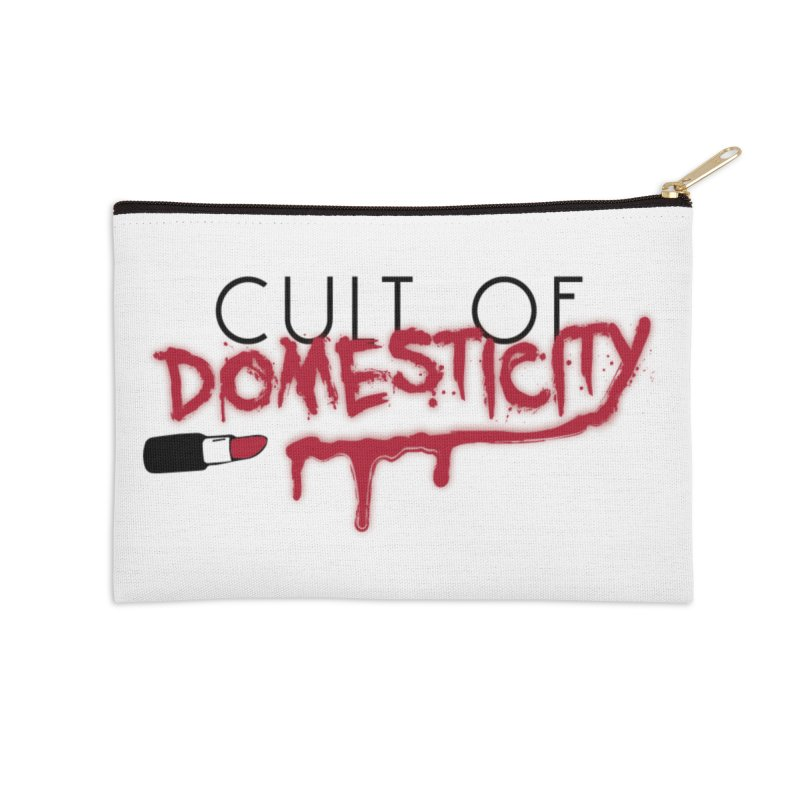 Cult of Domesticity Accessories Zip Pouch by The Cult of Domesticity Podcast