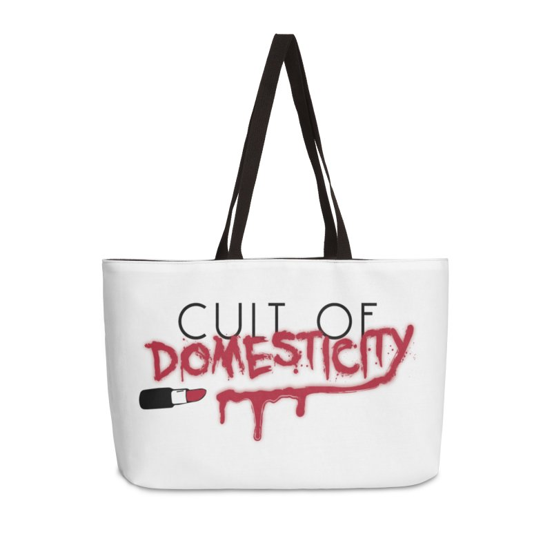 Cult of Domesticity Accessories Weekender Bag Bag by The Cult of Domesticity Podcast
