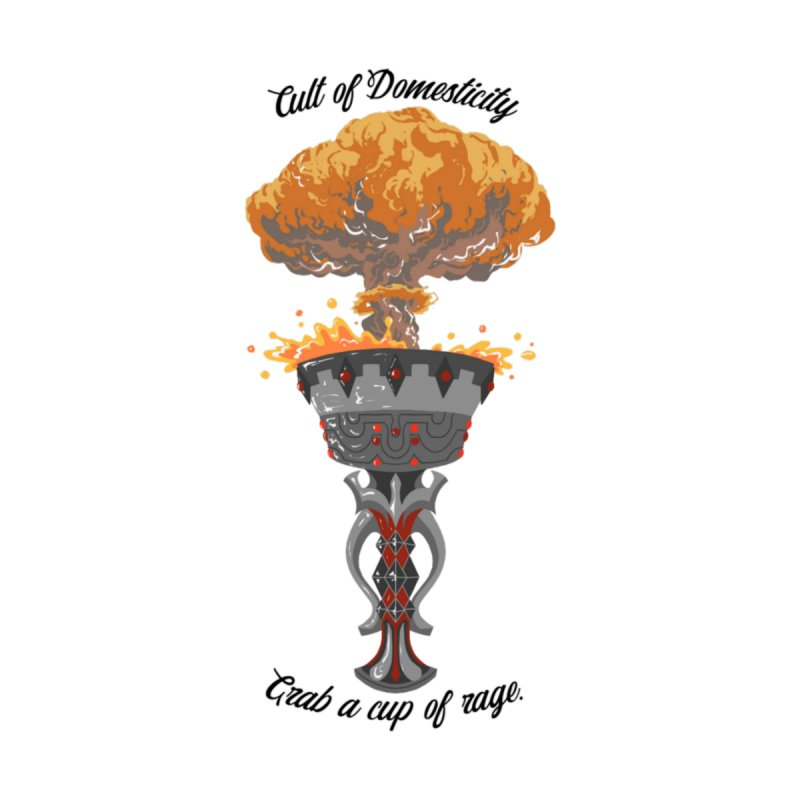 Cup of Rage Men's Tank by The Cult of Domesticity Podcast