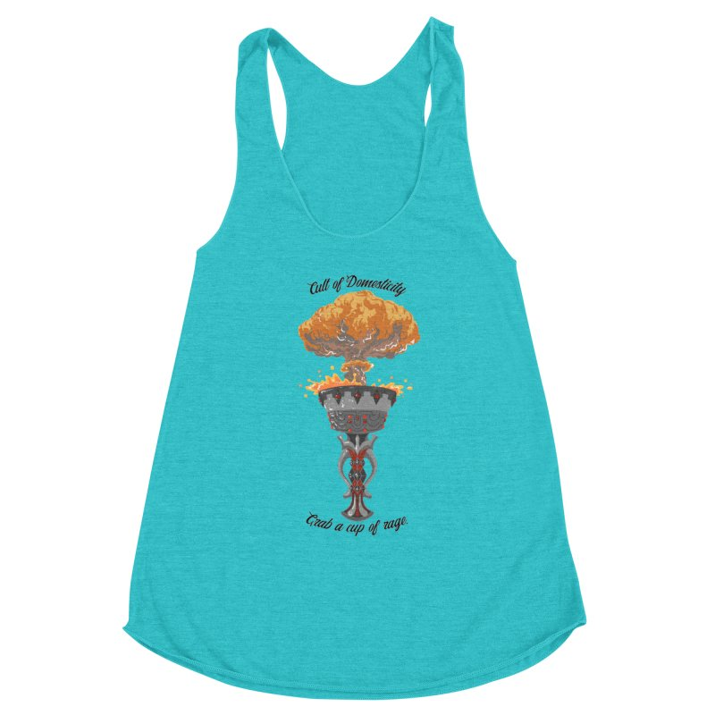 Cup of Rage Women's Tank by The Cult of Domesticity Podcast