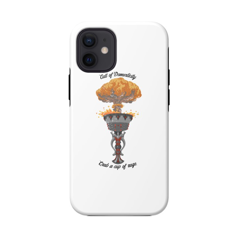 Cup of Rage Accessories Phone Case by The Cult of Domesticity Podcast
