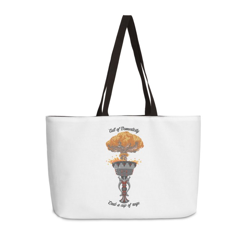 Cup of Rage Accessories Weekender Bag Bag by The Cult of Domesticity Podcast
