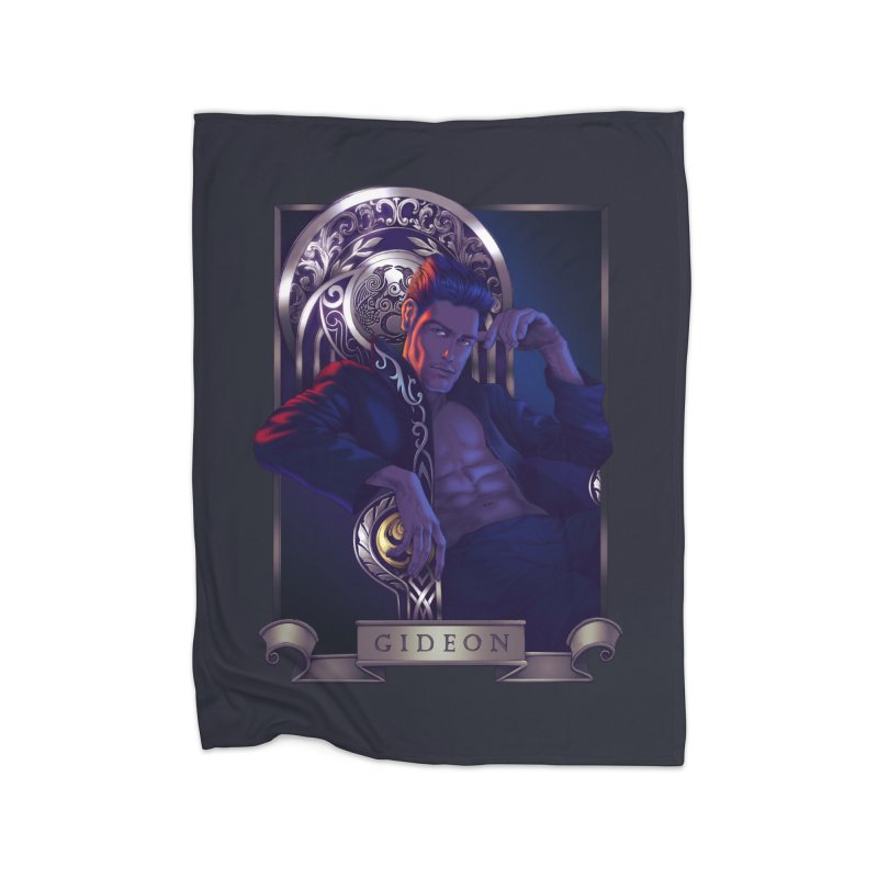 Gideon ~ The Nine While Nine Legacy Home Blanket by The Dark Whimsy Emporium