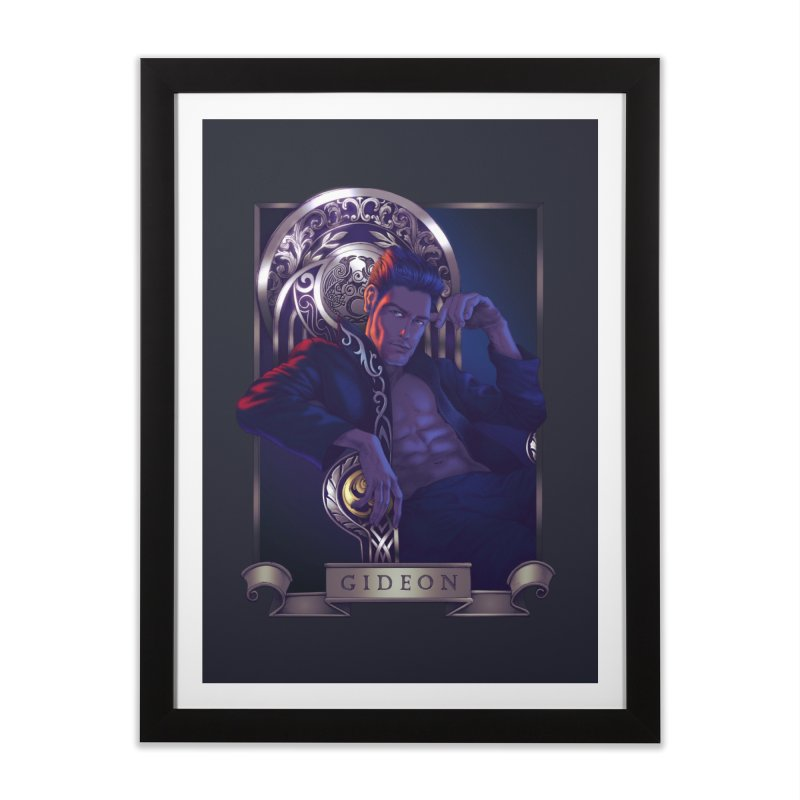 Gideon ~ The Nine While Nine Legacy Home Framed Fine Art Print by The Dark Whimsy Emporium