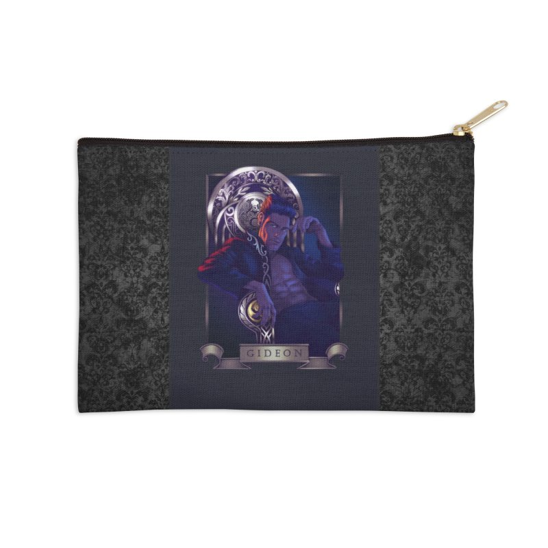 Gideon ~ The Nine While Nine Legacy Accessories Zip Pouch by The Dark Whimsy Emporium
