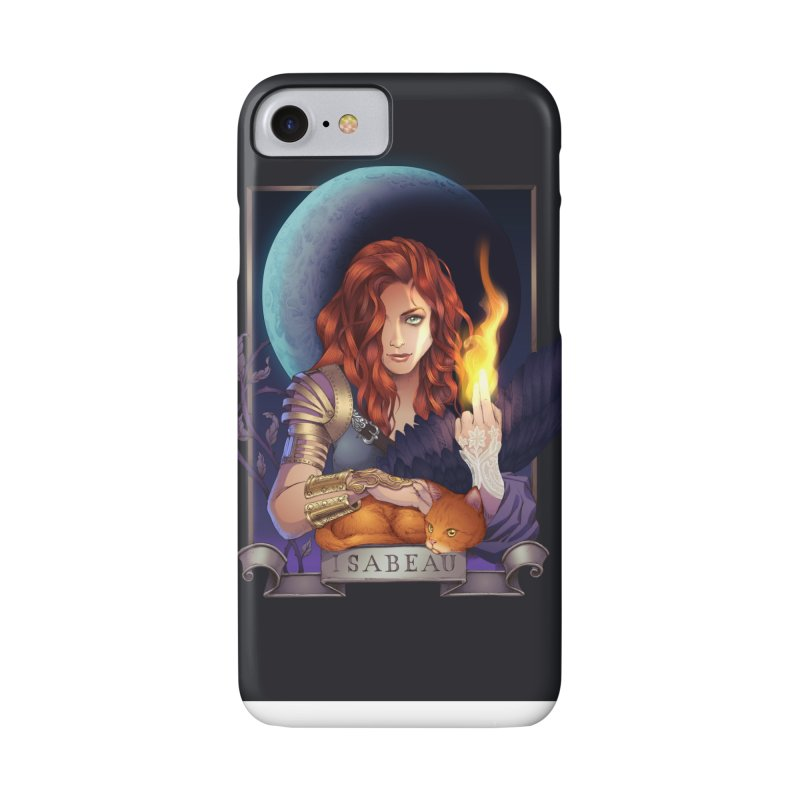 Isabeau ~ The Nine While Nine Legacy Accessories Phone Case by The Dark Whimsy Emporium