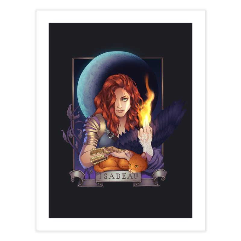 Isabeau ~ The Nine While Nine Legacy Home Fine Art Print by The Dark Whimsy Emporium