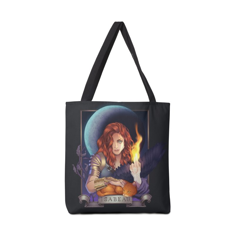 Isabeau ~ The Nine While Nine Legacy Accessories Tote Bag Bag by The Dark Whimsy Emporium