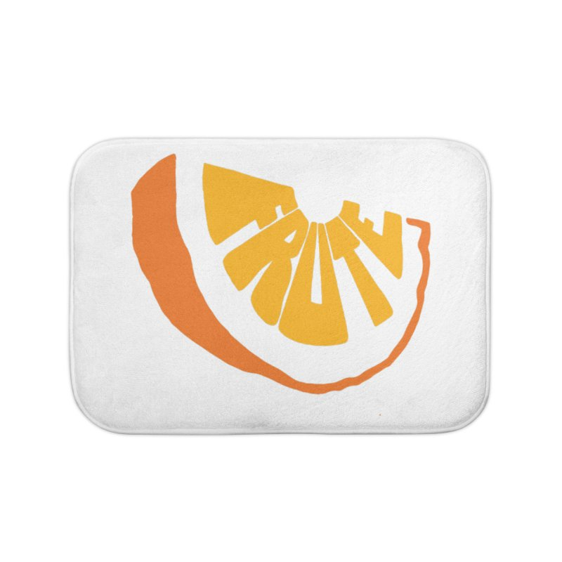 Frute Logo Home Bath Mat by TheFruteStand's Artist Shop