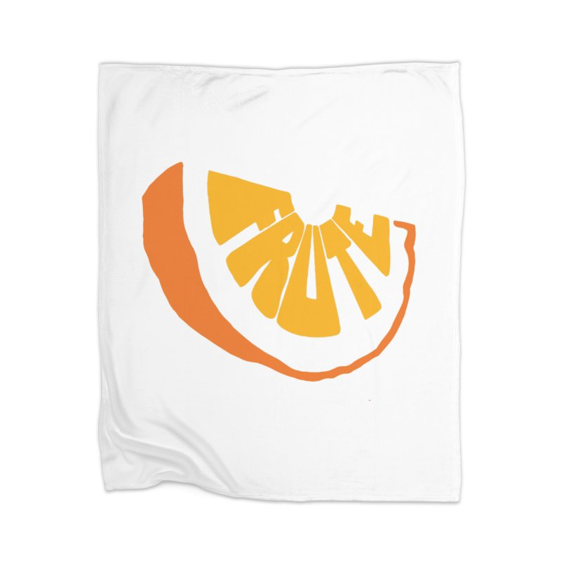Frute Logo Home Blanket by TheFruteStand's Artist Shop