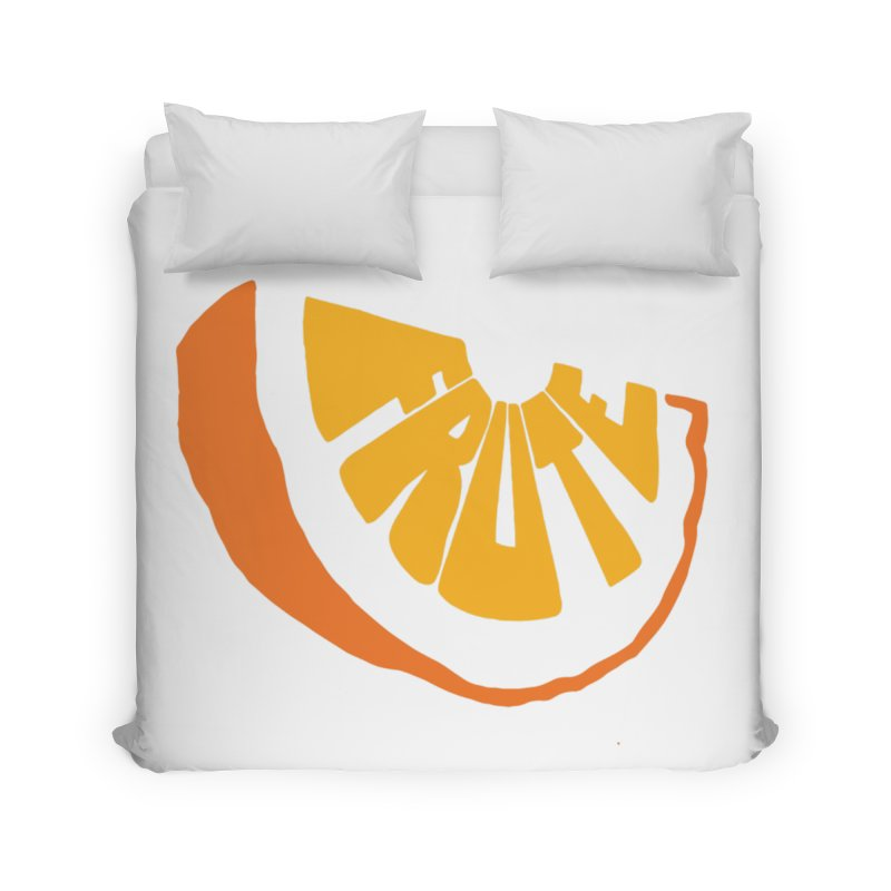 Frute Logo Home Duvet by TheFruteStand's Artist Shop