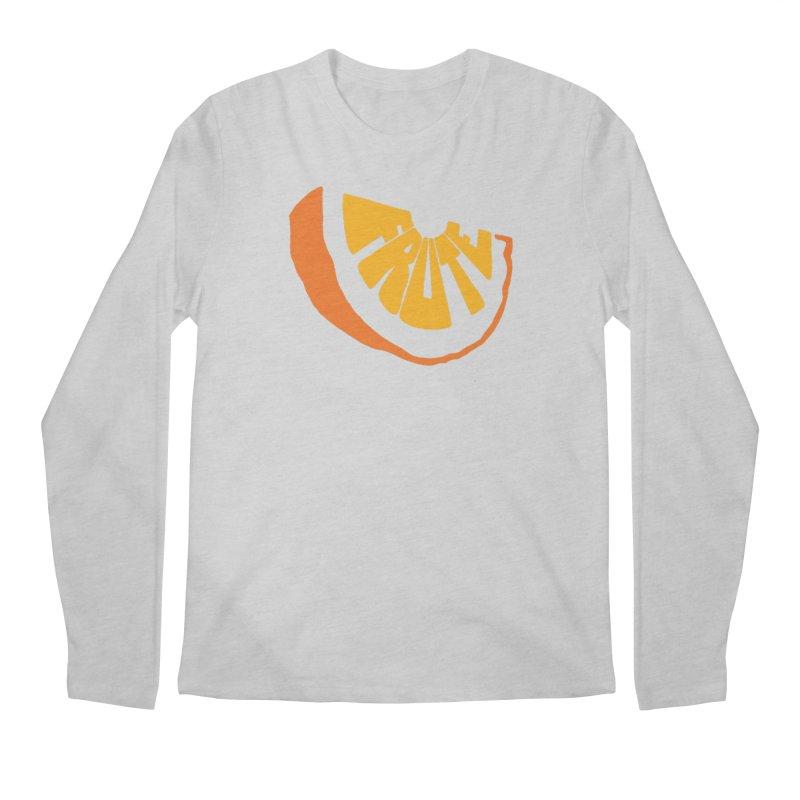Frute Logo Men's Longsleeve T-Shirt by TheFruteStand's Artist Shop