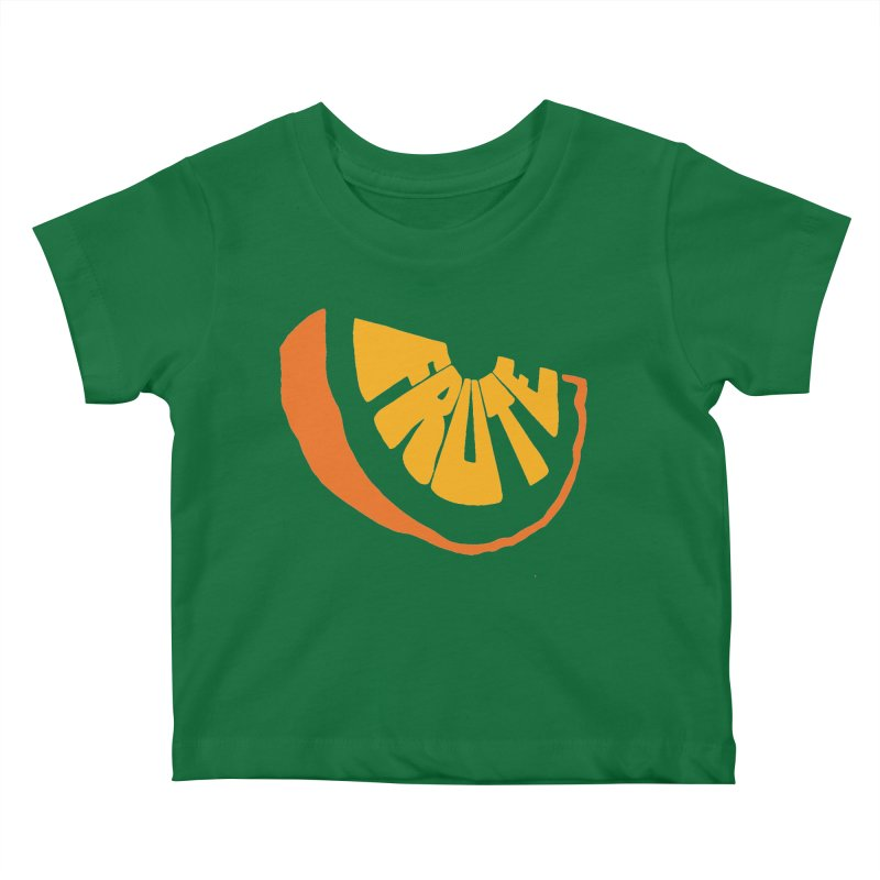 Frute Logo Kids Baby T-Shirt by TheFruteStand's Artist Shop