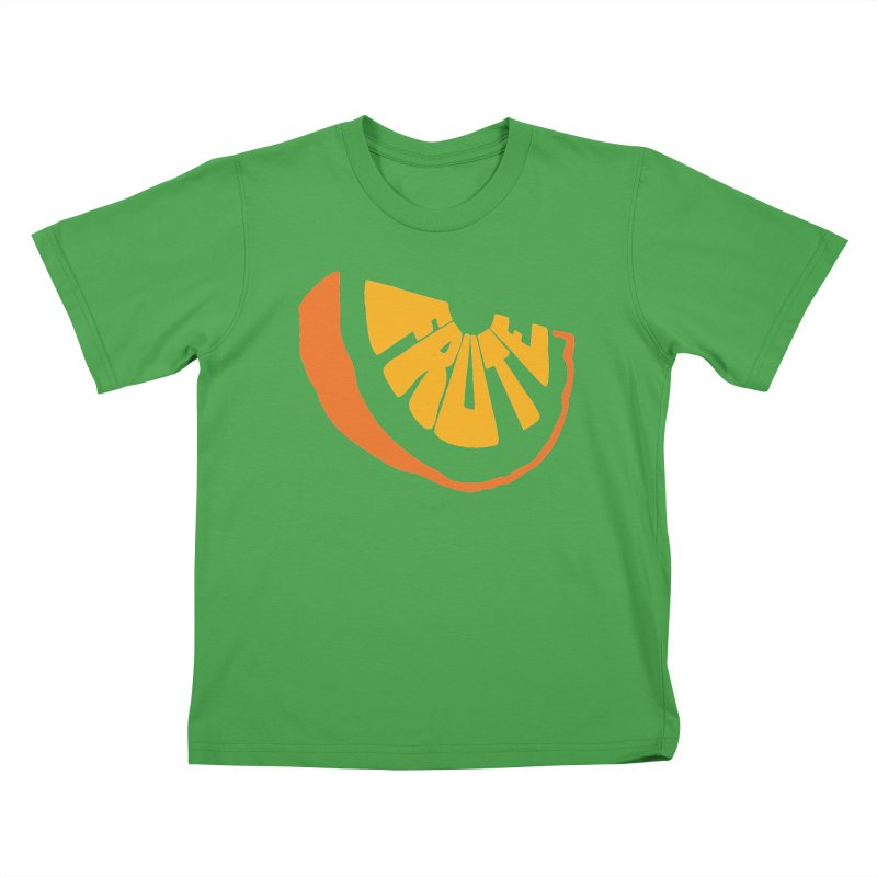 Frute Logo Kids T-Shirt by TheFruteStand's Artist Shop