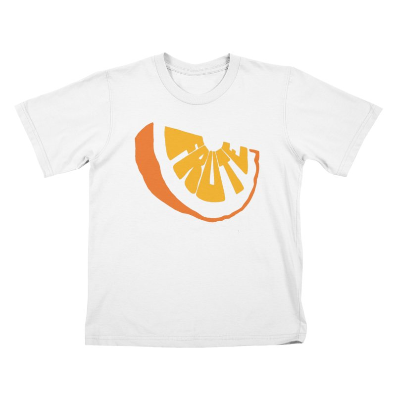 Frute Logo Kids T-Shirt by TheFruteStand's Artist Shop