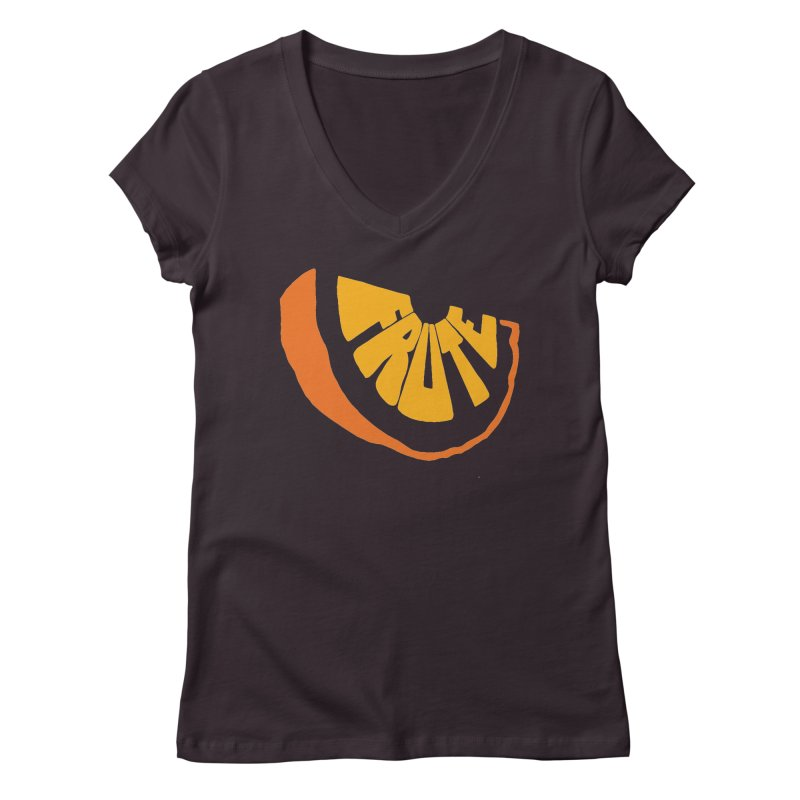 Frute Logo Women's V-Neck by TheFruteStand's Artist Shop