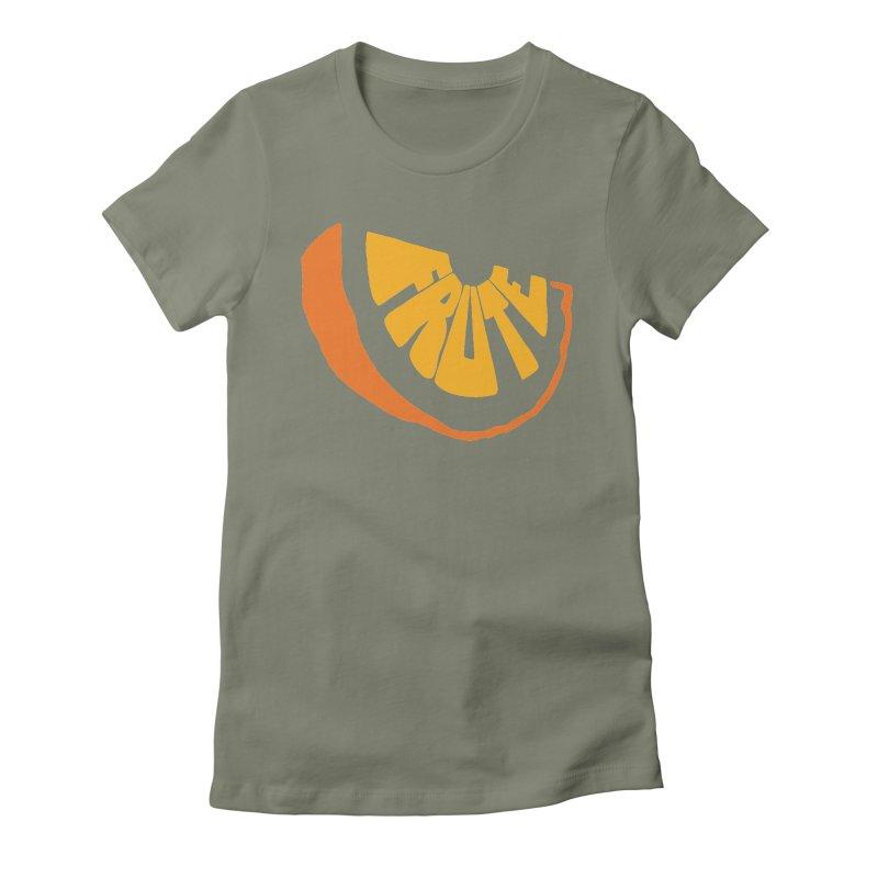 Frute Logo Women's T-Shirt by TheFruteStand's Artist Shop