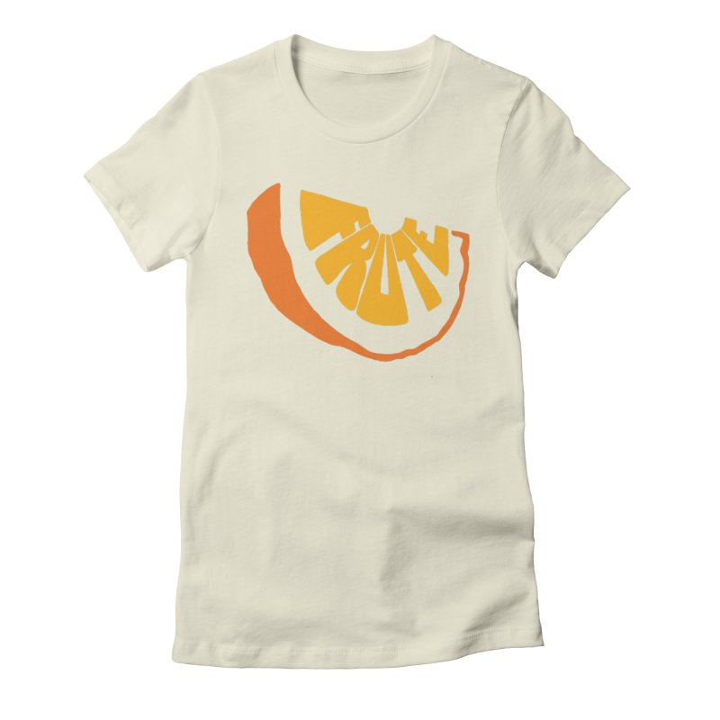 Frute Logo Women's T-Shirt by TheFruteStand's Artist Shop