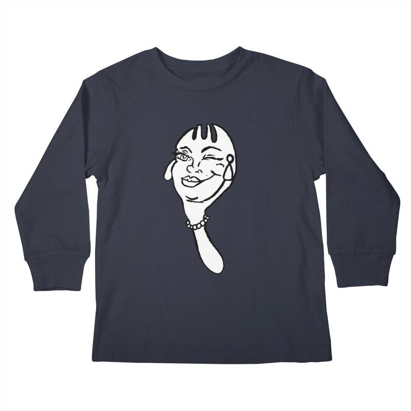 The Funky Spork Logo Kids Longsleeve T-Shirt by TheFunkySpork's Artist Shop