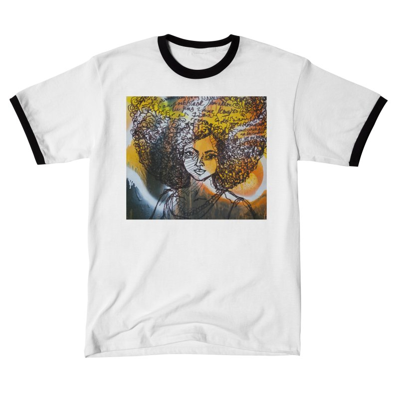 Afro, Roots & Faith Women's T-Shirt by TheFunkySpork's Artist Shop