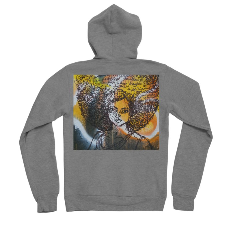 Afro, Roots & Faith Men's Zip-Up Hoody by TheFunkySpork's Artist Shop