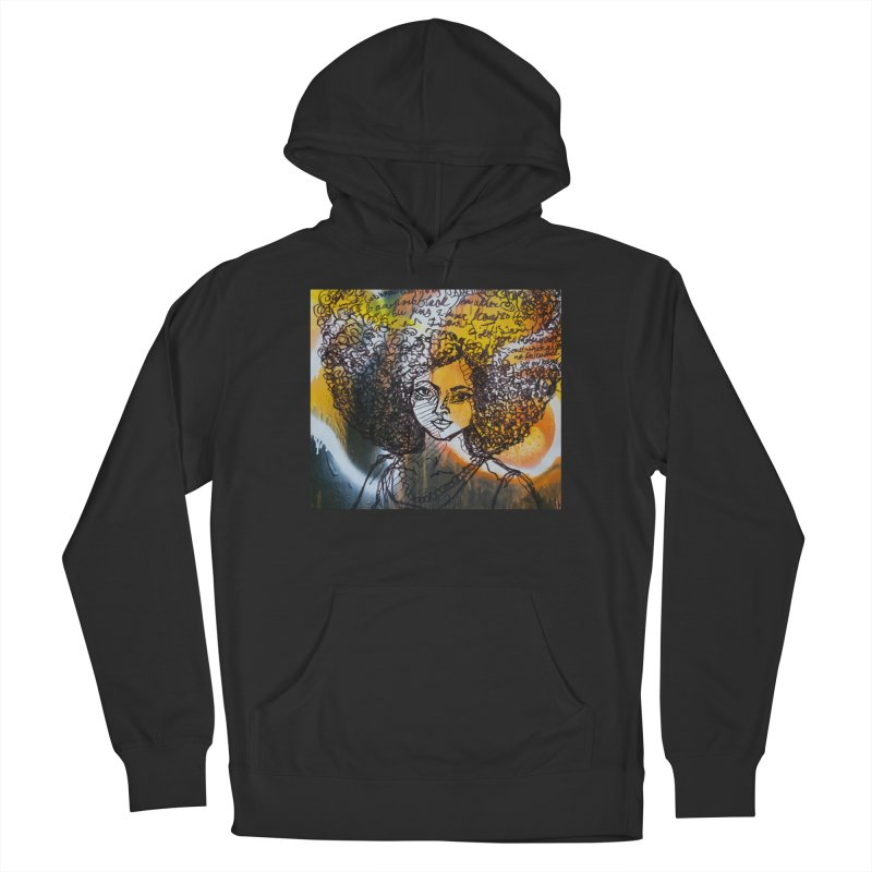 Afro, Roots & Faith Men's Pullover Hoody by TheFunkySpork's Artist Shop