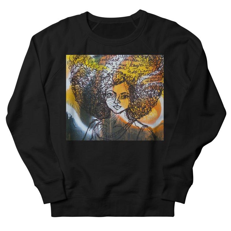 Afro, Roots & Faith Men's Sweatshirt by TheFunkySpork's Artist Shop