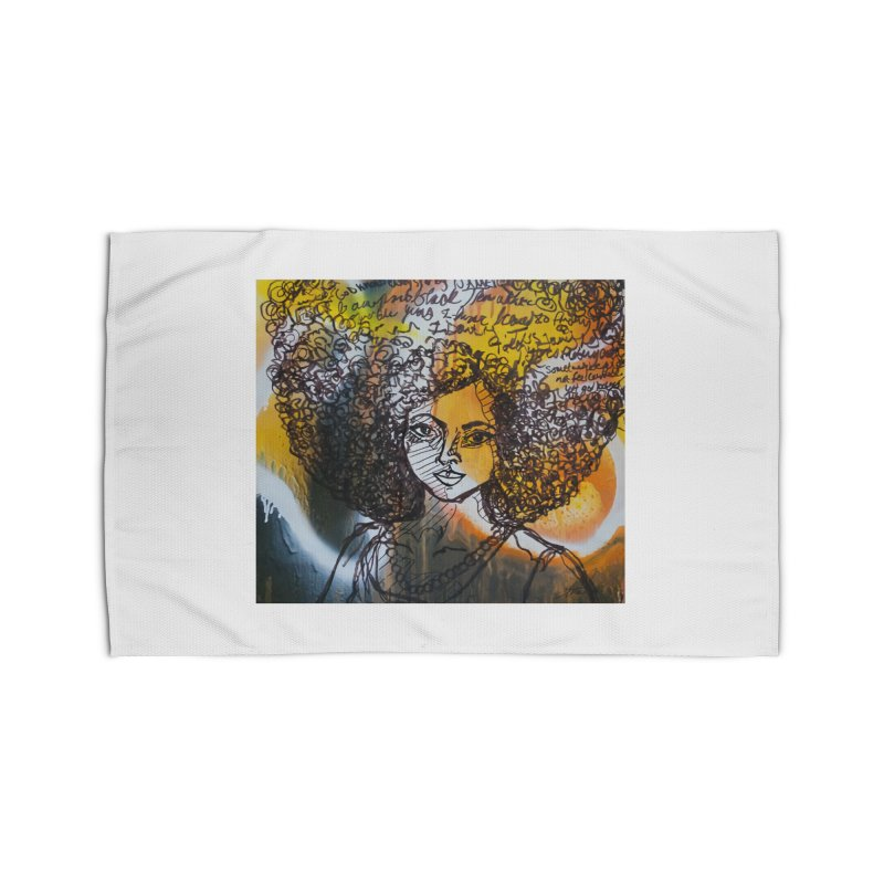 Afro, Roots & Faith Home Rug by TheFunkySpork's Artist Shop