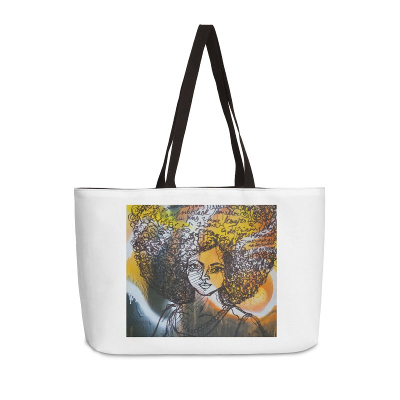 Afro, Roots & Faith Accessories Bag by TheFunkySpork's Artist Shop