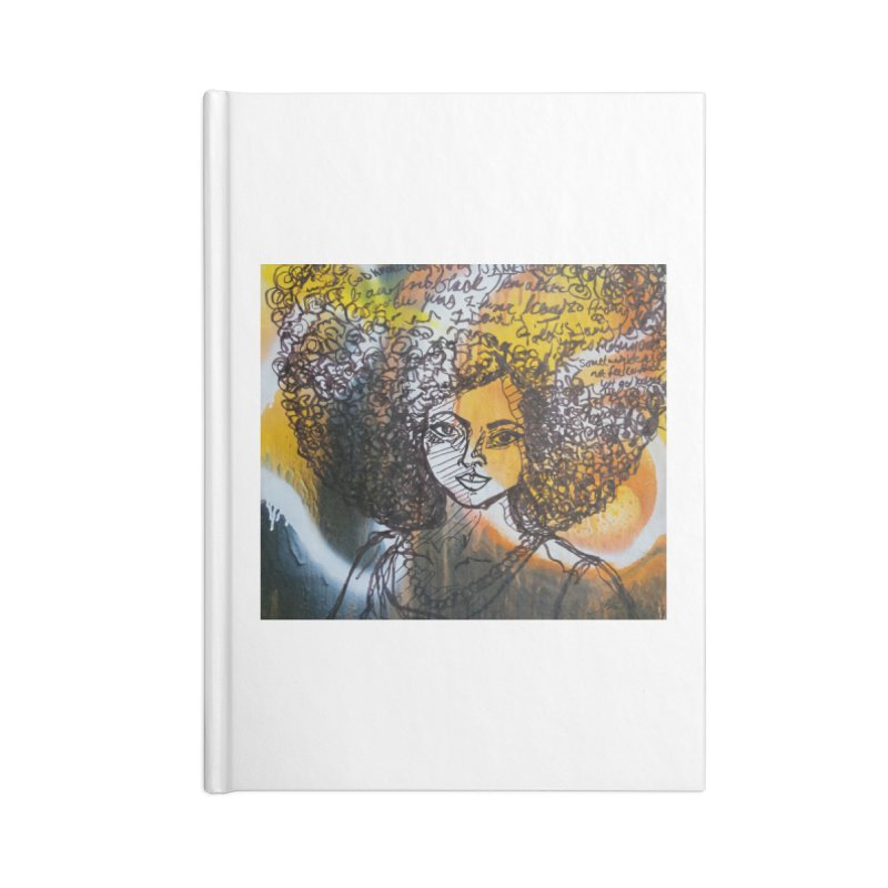 Afro, Roots & Faith Accessories Notebook by TheFunkySpork's Artist Shop
