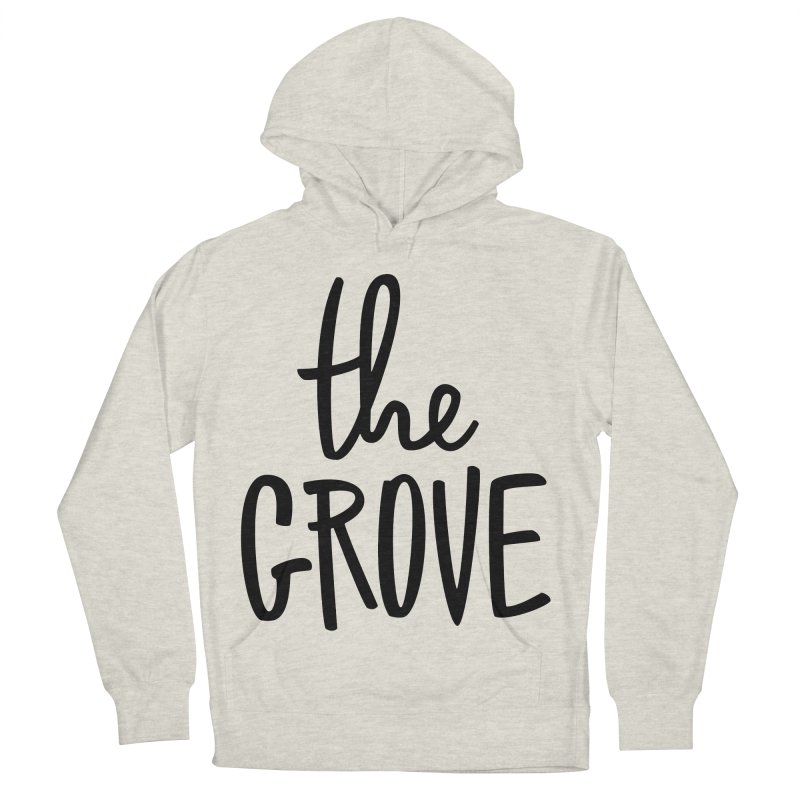 basicgrove Women's French Terry Pullover Hoody by www.thegrove.space