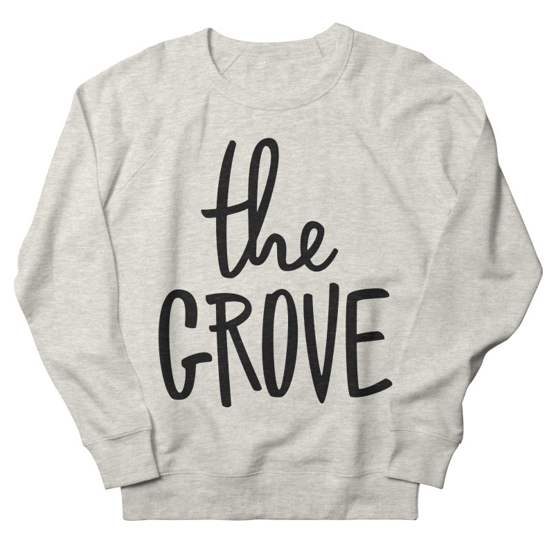 basicgrove Women's French Terry Sweatshirt by www.thegrove.space