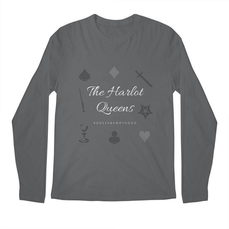 Shirts - The Harlot Queens Style 2 Men's Longsleeve T-Shirt by TheHarlotQueens's Artist Shop