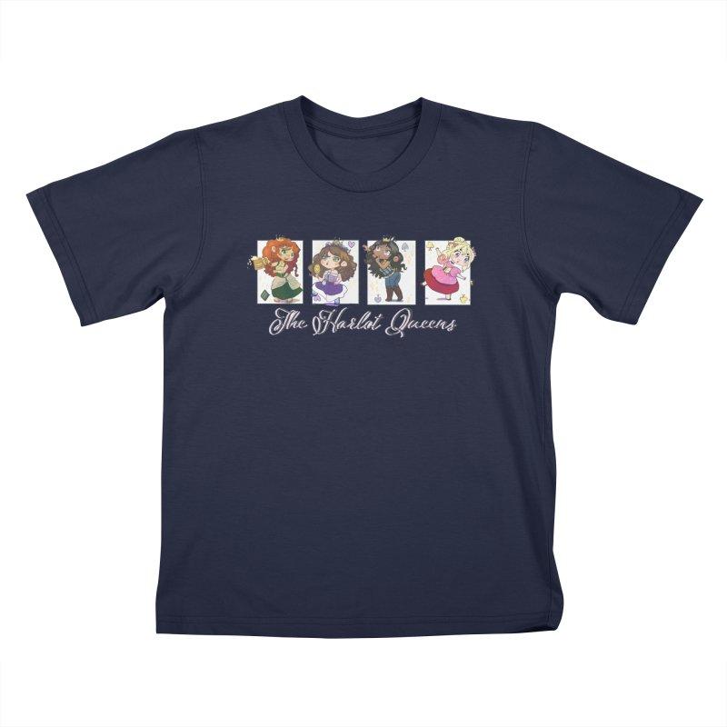 Shirts - The Harlot Queens Style 1 Kids T-Shirt by TheHarlotQueens's Artist Shop