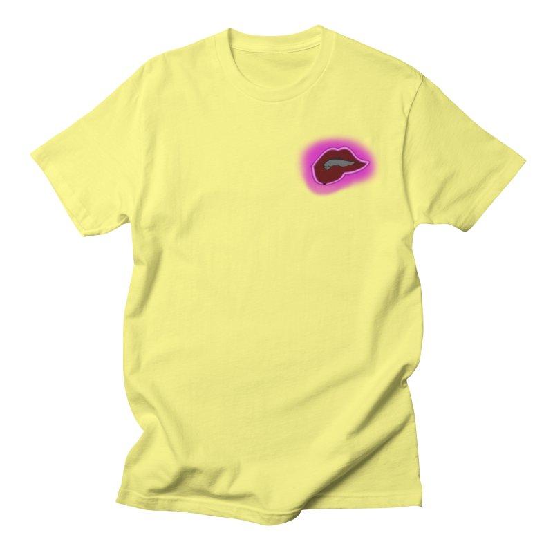 Lips Men's T-Shirt by The Hawkshaws's Artist Shop