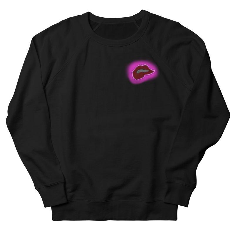 Lips Men's Sweatshirt by The Hawkshaws's Artist Shop