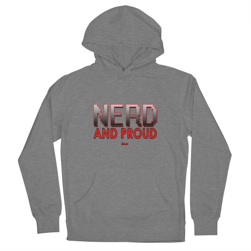 Nerd and Proud Women's Pullover Hoody by TheImaginativeHobbyist's Artist Shop