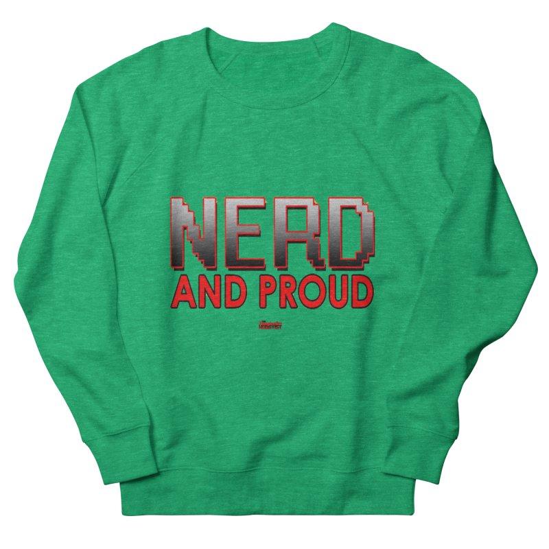 Nerd and Proud Women's Sweatshirt by TheImaginativeHobbyist's Artist Shop