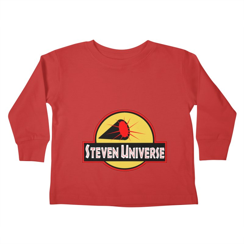 Jurassic Universe Kids Toddler Longsleeve T-Shirt by TheImaginativeHobbyist's Artist Shop