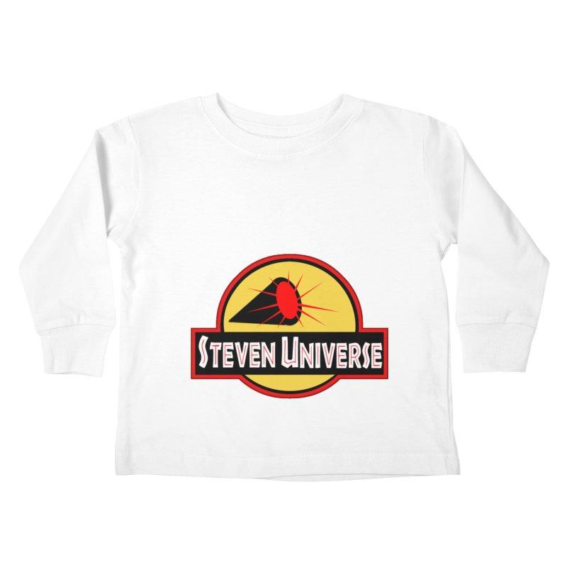 Jurassic Universe Kids Toddler Longsleeve T-Shirt by TheImaginativeHobbyist's Artist Shop