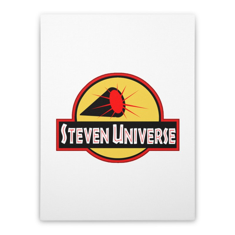 Jurassic Universe Home Stretched Canvas by TheImaginativeHobbyist's Artist Shop