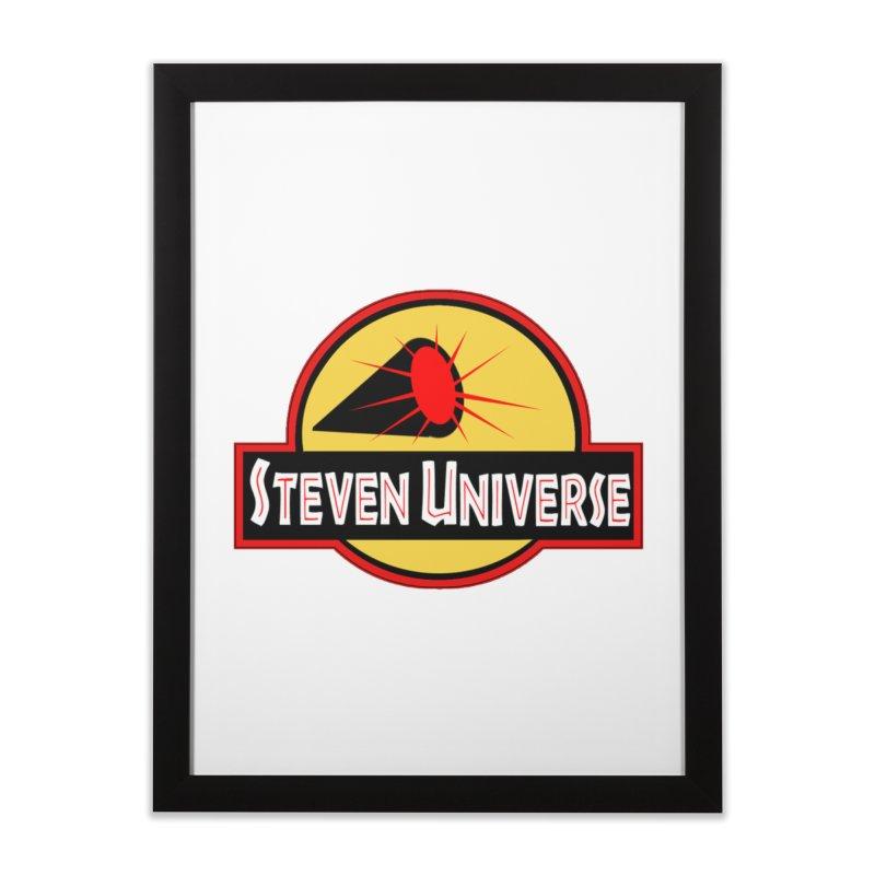 Jurassic Universe Home Framed Fine Art Print by TheImaginativeHobbyist's Artist Shop
