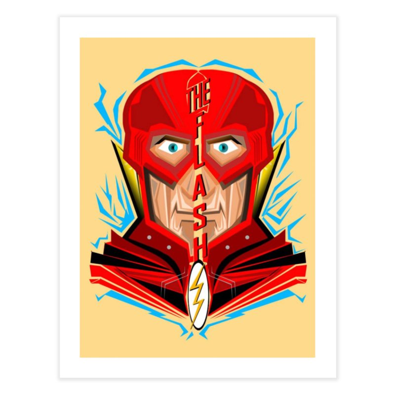 The Flash Home Fine Art Print by TheImaginativeHobbyist's Artist Shop
