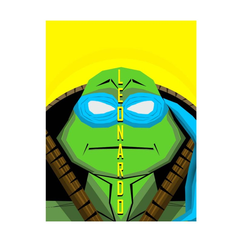 TMNT - Leonardo Home Fine Art Print by TheImaginativeHobbyist's Artist Shop